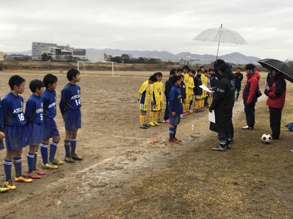 第20回 北摂中学生(U-13)サッカー選手権大会 準優勝!!
